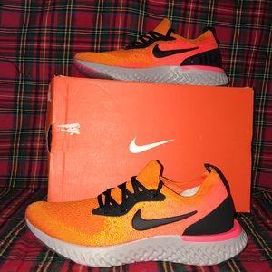 Nike Epic React Flyknit size 4.5y or women's 6 NEW